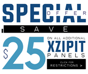 Receive 25 OFF all additional Panels Purchased